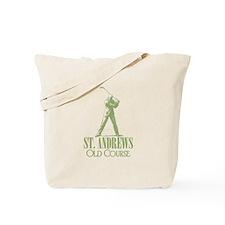 Vintage Golf (Old Course) Tote Bag
