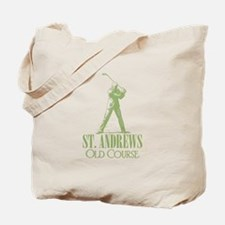 Vintage Golf (Old Course) Tote Bag