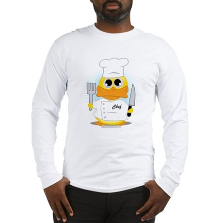 Chef Duck Long Sleeve T-Shirt