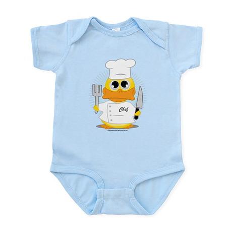 Chef Duck Infant Bodysuit