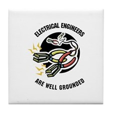 Well Grounded Tile Coaster