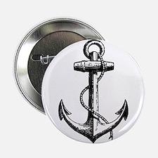 """Vintage Anchor 2.25"""" Button"""