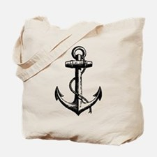 Vintage Anchor Tote Bag