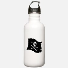 Pirate Flag Tattoo Water Bottle