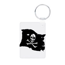 Pirate Flag Tattoo Keychains