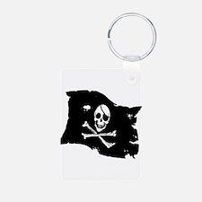 Pirate Flag Tattoo Keychains