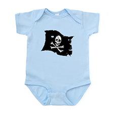 Pirate Flag Tattoo Infant Bodysuit