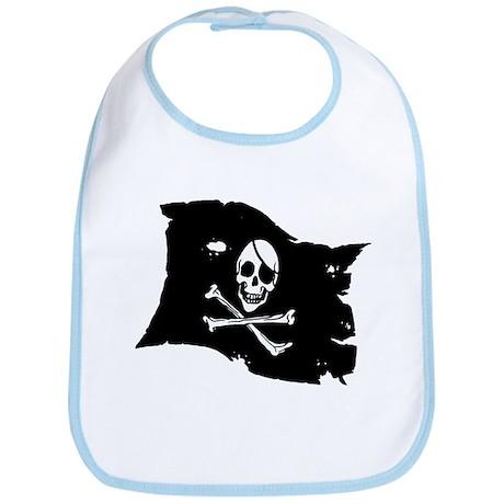 Pirate Flag Tattoo Bib