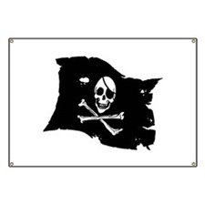 Pirate Flag Tattoo Banner