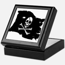 Pirate Flag Tattoo Keepsake Box