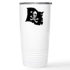 Pirate Flag Tattoo Travel Mug