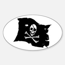Pirate Flag Tattoo Decal