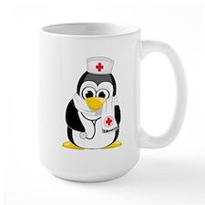 Nurse Penguin Scarf Mug