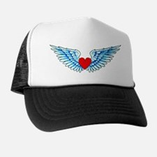 Winged Heart Tattoo Trucker Hat