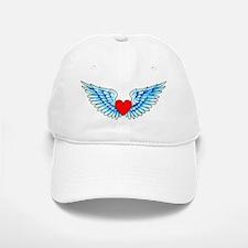 Winged Heart Tattoo Baseball Baseball Cap
