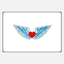 Winged Heart Tattoo Banner