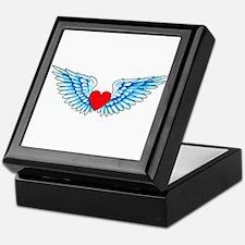 Winged Heart Tattoo Keepsake Box