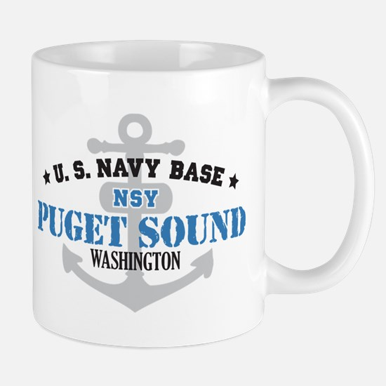 US Navy Puget Sound Base Mug