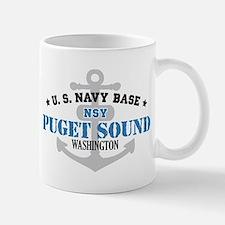 US Navy Puget Sound Base Small Small Mug