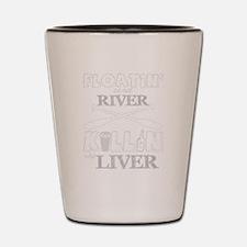 Cool River Shot Glass