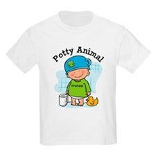 Potty Animal Boy T-Shirt