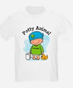 Potty Animal Boy T-Shirt