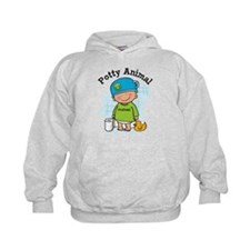 Potty Animal Boy Hoodie