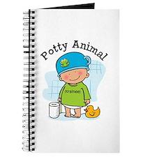 Potty Animal Boy Journal