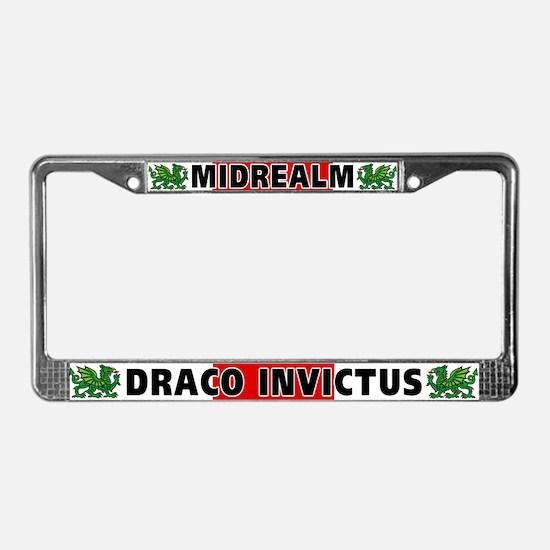 Midrealm License Plate Frame