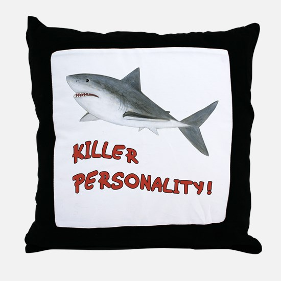 Shark - Personality Throw Pillow