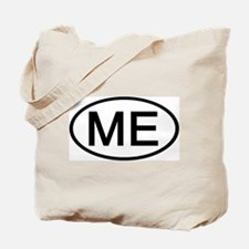 ME - Initial Oval Tote Bag