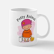 Potty Animal Girl Mug