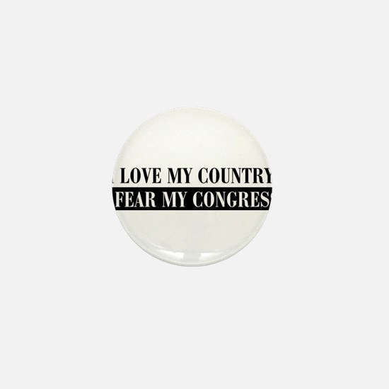 I love my country Mini Button
