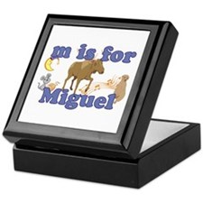 M is for Miguel Keepsake Box