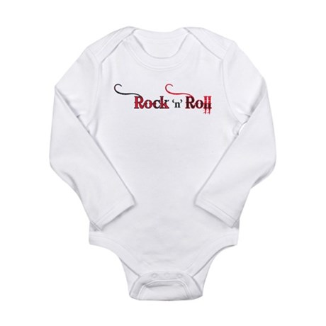 Rock 'n Roll Tattoo Long Sleeve Infant Bodysuit