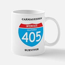 interstate 405 survivor Mug