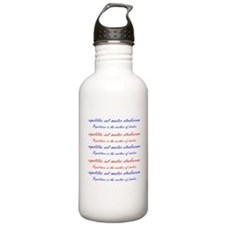 Repetition Water Bottle