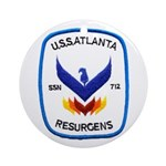 USS ATLANTA Ornament (Round)