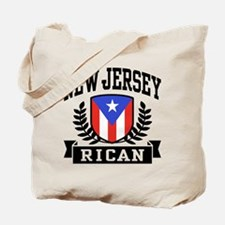 New Jersey Rican Tote Bag