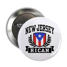 "New Jersey Rican 2.25"" Button"