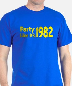 Party Like It's 1982 T-Shirt