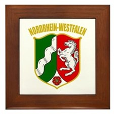 Nordrhein-Westfalen COA Framed Tile