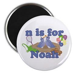 N is for Noah Magnet