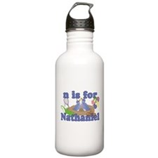 N is for Nathaniel Water Bottle