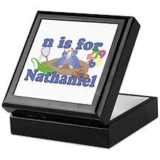 N is for Nathaniel Keepsake Box