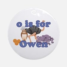 O is for Owen Ornament (Round)