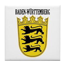 Baden-Wurttemberg COA Tile Coaster