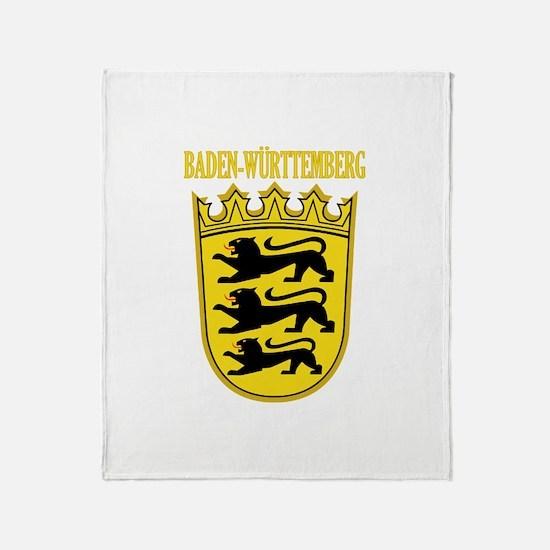 Baden-Wurttemberg COA Throw Blanket