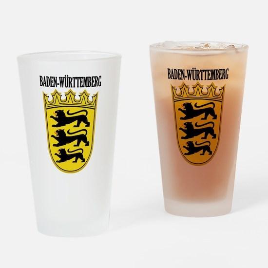 Baden-Wurttemberg COA Drinking Glass
