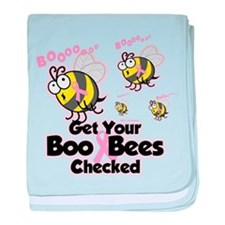 Boo Bees baby blanket